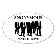 Anonymous Oval Decal