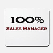 100 Percent Sales Manager Mousepad