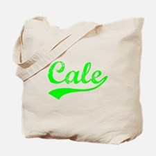 Vintage Cale (Green) Tote Bag