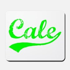 Vintage Cale (Green) Mousepad