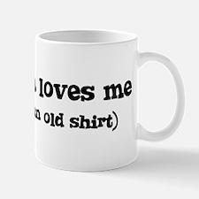 Christiana loves me Mug
