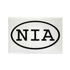 NIA Oval Rectangle Magnet