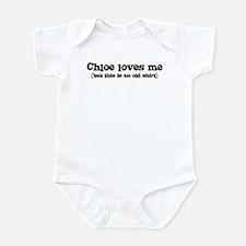 Chloe loves me Infant Bodysuit