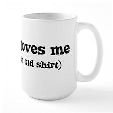 Charlize loves me Mug