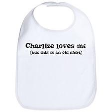 Charlize loves me Bib