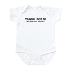 Madisen loves me Infant Bodysuit