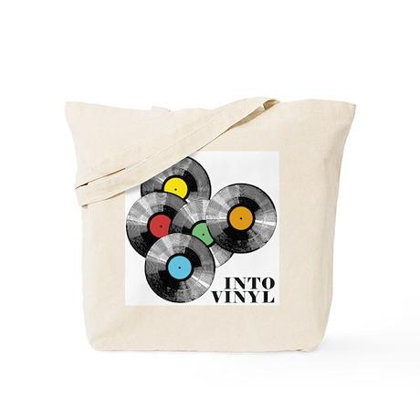 Into Vinyl - Tote Bag