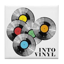 Into Vinyl - Tile Coaster