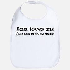 Ann loves me Bib