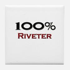 100 Percent Riveter Tile Coaster