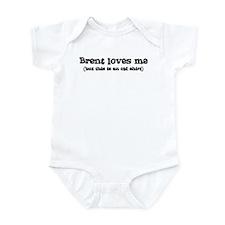 Brent loves me Infant Bodysuit