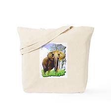 Cute Elephant art Tote Bag