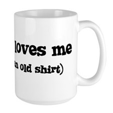 Destiney loves me Mug