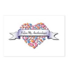 Love My Anesthesiologist Postcards (Package of 8)