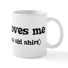 Evelyn loves me Mug