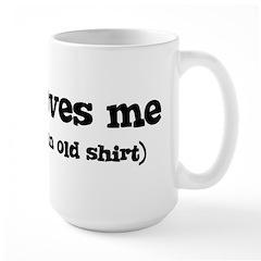 Daryl loves me Large Mug