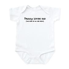 Danny loves me Infant Bodysuit