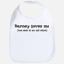 Barney loves me Bib