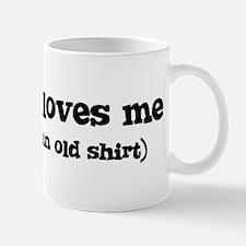 Eduardo loves me Mug