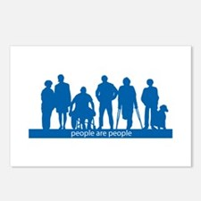 People Are People Postcards (Package of 8)