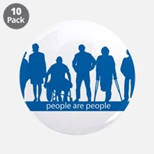 "People Are People 3.5"" Button (10 pack)"