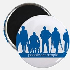 """People Are People 2.25"""" Magnet (100 pack)"""