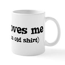 Kurtis loves me Small Mug