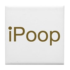 Unique Ipoop Tile Coaster