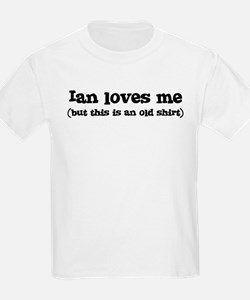 Ian loves me T-Shirt