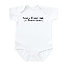 Ozzy loves me Infant Bodysuit