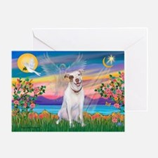 Guardian / Pit Bull Terrier Greeting Card