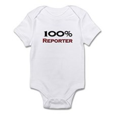 100 Percent Reporter Infant Bodysuit
