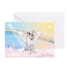 Dog Angel / Pit Bull Greeting Card