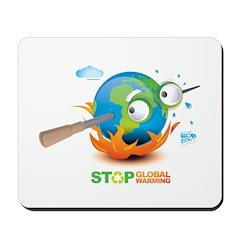 Earth Skewer Mousepad