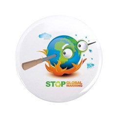 "Earth Skewer 3.5"" Button (100 pack)"