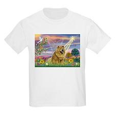 Cloud Angel & Chow Chow T-Shirt