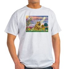 Cloud Angel & Chow Chow T-Shirt
