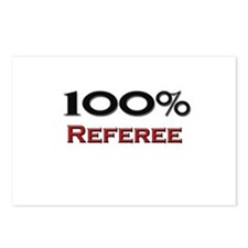 100 Percent Referee Postcards (Package of 8)