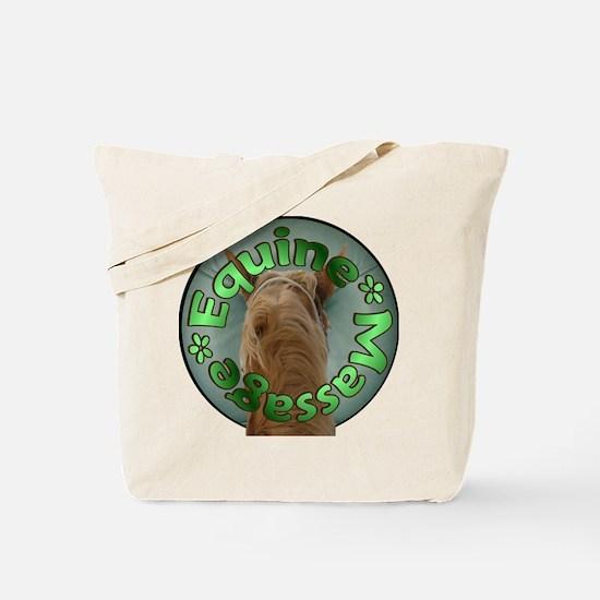 Equine Massage Tote Bag