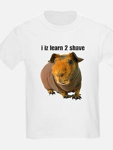 i iz learn 2 shave T-Shirt