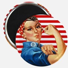 "Rosie the Riveter 2.25"" Magnet (100 pack)"
