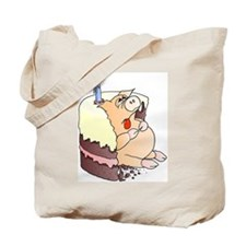 Another Greedy Pig Tote Bag