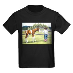 Girl with foal T