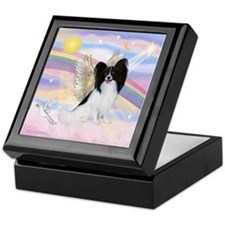 Papillon (#1) Angel Keepsake Box