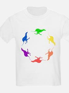 Greyhound Kids T-Shirt/Circle