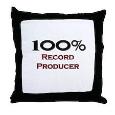100 Percent Record Producer Throw Pillow