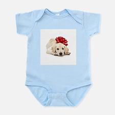 Yellow Lab Puppy Infant Bodysuit