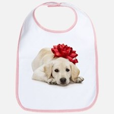 Yellow Lab Puppy Bib