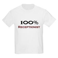 100 Percent Receptionist T-Shirt