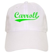 Vintage Carroll (Green) Baseball Cap